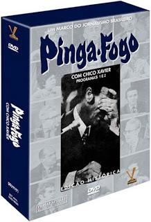 DVD Pinga-Fogo com Chico Xavier